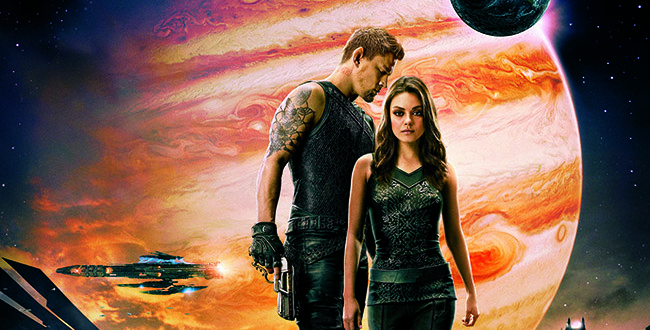 "Tatum and Kunis Take to the Stars in ""Jupiter Ascending"""