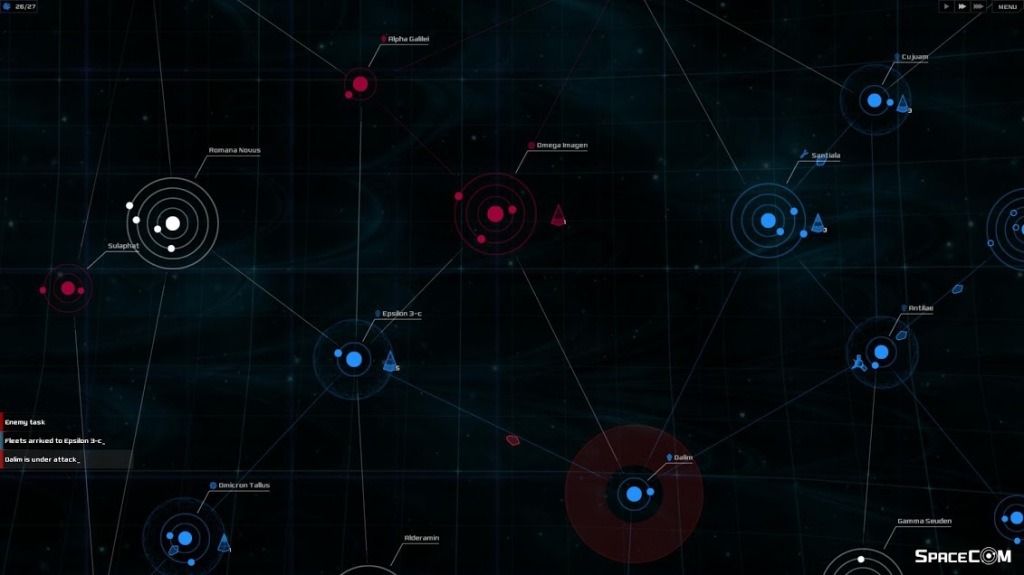SpaceCom gives the player the opportunity to command encounters from the Captain's chair.