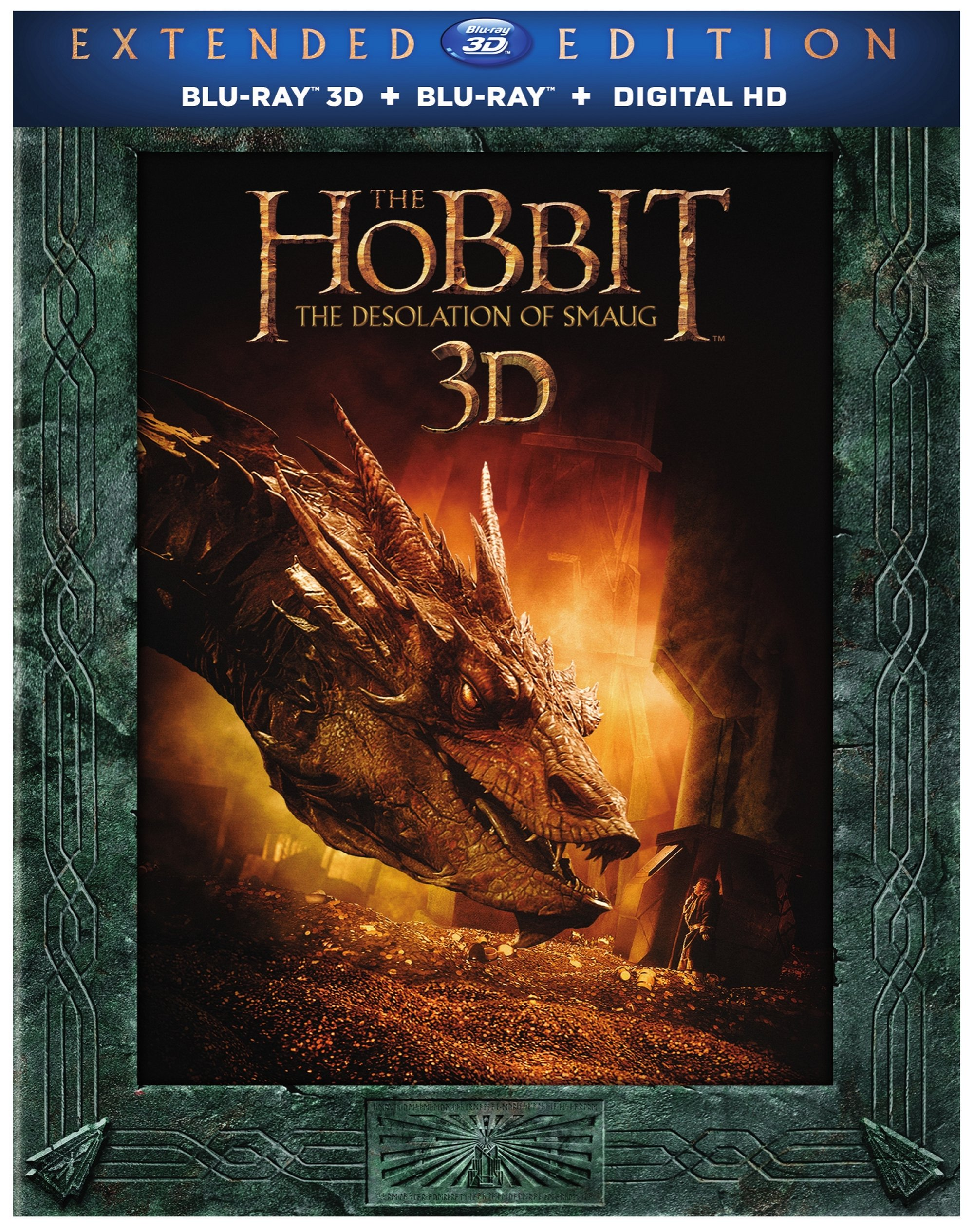 The hobbit: the desolation of smaug dvd release date april 8, 2014.