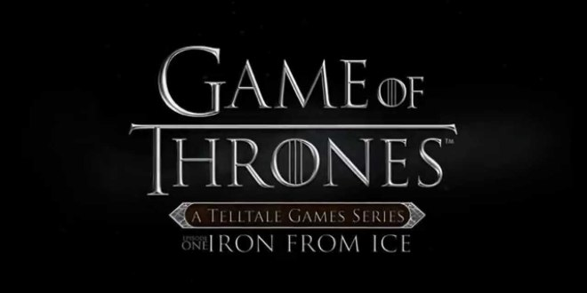 Telltale's Game of Thrones Game Trailer Released