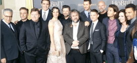"""EXCLUSIVE: The Hobbit: The Battle of the Five Armies Report from the """"Black Carpet"""" at the L.A. Premiere"""