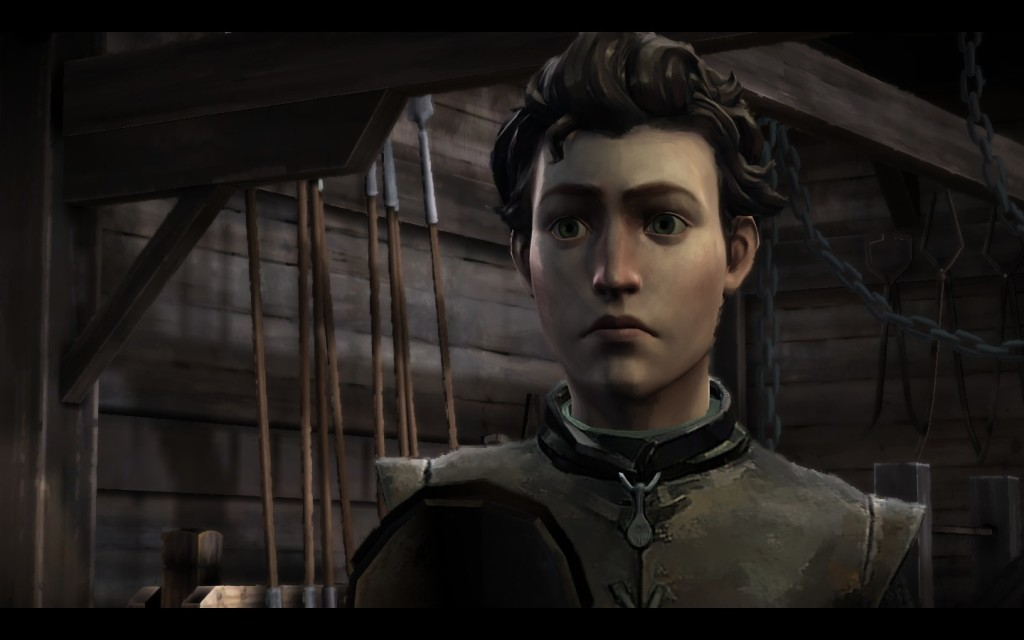 Ethan Forrester, one of 3 playable characters in Episode 1. Game of Thrones boasts 5 total playable characters.