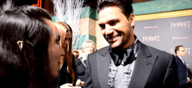 "Manu Bennett Interview on the ""Black Carpet"" During the Premiere of The Hobbit: The Battle of the Five Armies"