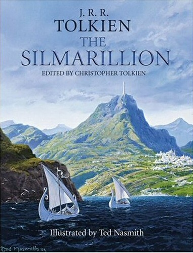 One of the amazing covers of The Silmarillion throughout the years.