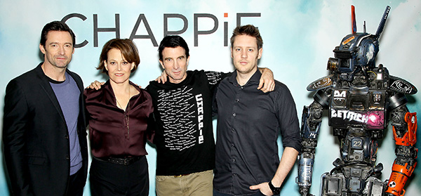 """New York Cast Photo Call for Columbia Pictures' new Film """"CHAPPiE"""""""