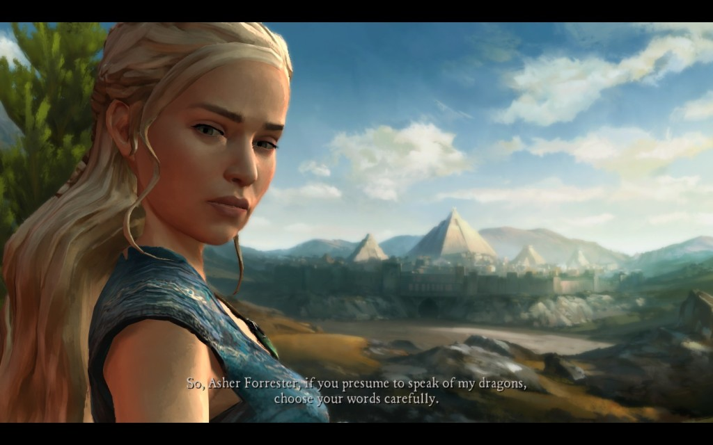 Daenerys Game of Thrones Telltale