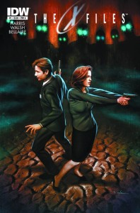 The X-Files Season 10 comic book series. Image from http://x-files.wikia.com/wiki/The_X-Files:_Season_10 .