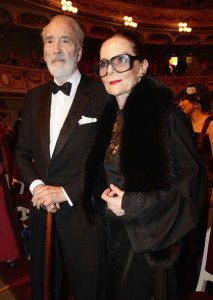 Sir Christopher and his wife, Gitte. Image from http://www.zimbio.com/photos/Gitte+Lee/Semper+Opera+Ball/MeQ7EiULr1Y