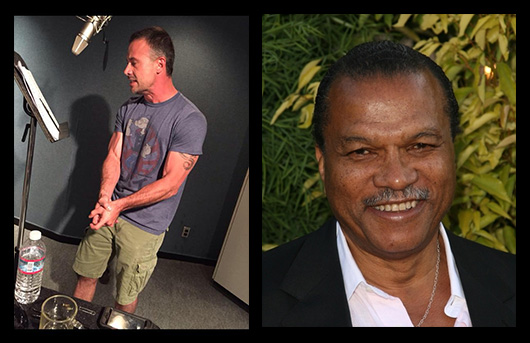 (Left) Freddie Prinze Jr (Right) Billy Dee Williams