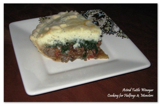 """Middle-earth Menu: """"Hearty Lunch Pie"""""""